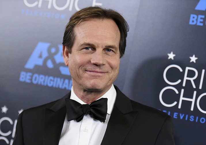 """In this May 31, 2015, file photo, Bill Paxton arrives at the Critics' Choice Television Awards at the Beverly Hilton hotel in Beverly Hills, Calif. A family representative said prolific and charismatic actor Paxton, who played an astronaut in """"Apollo 13"""" and a treasure hunter in """"Titanic,"""" died from complications due to surgery. The family representative issued a statement Sunday, Feb. 26, 2017, on the death."""