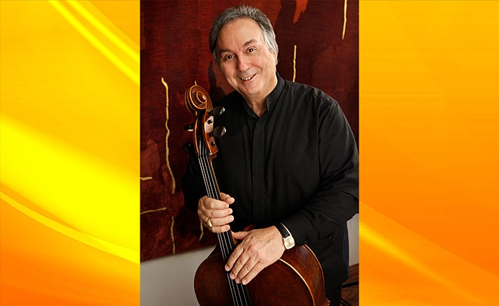 Featured cellist Ralph Kirshbaum/Photo by Steve Cohn