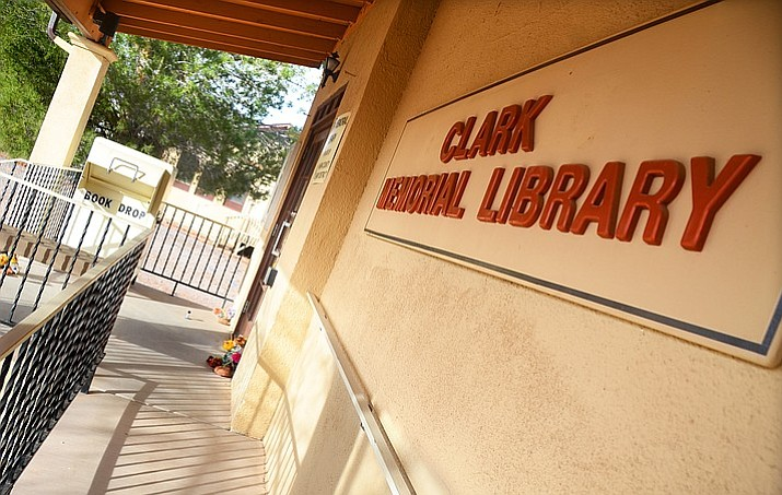 The Common Council of the Town of Clarkdale will hold a worksession Tuesday to discuss the Community Services Commission's recommendation to close the Clark Memorial Library.  (VVN/Vyto Starinskas)