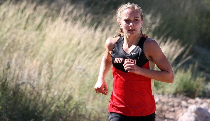 Going into her senior season for Rio Rico High School, Allie Schadler has won 11 state championships in track and field and cross country. (Photo courtesy of Nogales International)