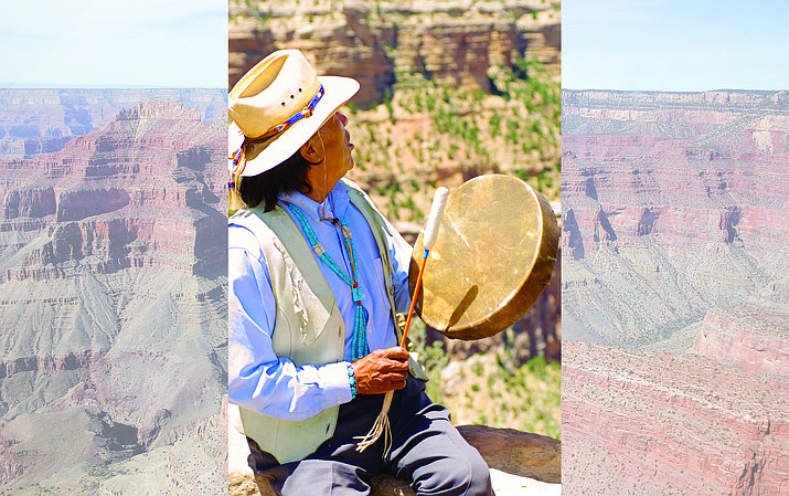 James Peshlakai was well-known in the Grand Canyon community as an educator, artist, performer and ceremonialist.