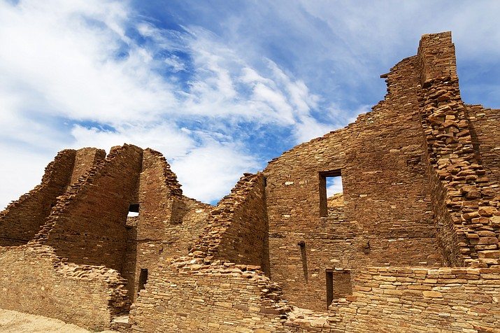 Pueblo Bonito ruin is protected by Chaco Culture National Historic Park in New Mexico, near where proposed drilling and fracking could take place. Adobe stock