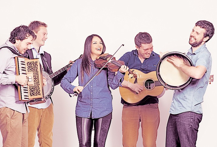Irish quintet Goitse will perform at 7 p.m. on Tuesday, March 7, at Trinity Presbyterian Church, 530 Park Ave.