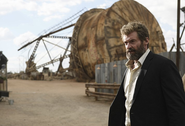 "Hugh Jackman stars in ""Logan."""