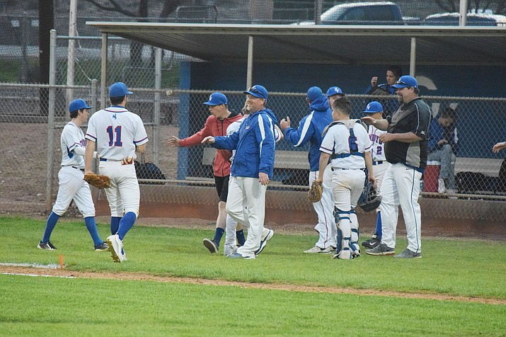 Camp Verde baseball is off to a 7-0 start, including winning the Bagdad Copper Classic in Bagdad over the host Sultans. The Cowboys have outscored opponents 81-26 so far this season. (VVN/James Kelley)