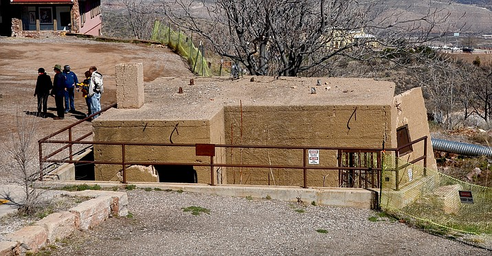 "The Jerome Town Council has agreed to let the town's Historical Society will take control of ""re-habbing"" the popular tourist attraction and  the sliding parking area will be graded to a proper slope to shed water. (VVN/Vyto Starinskas)"
