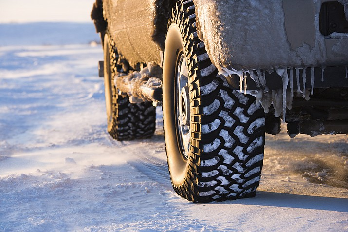 To help keep motorist safe, ADOT has installed ice sensors on Interstate 40. The sensors measure the salt content, surface moisture and ground temperatures to give road crews a more accurate reading on road conditions.
