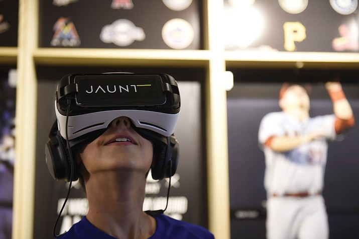 Virtual Reality company Jaunt and MLB Advanced Media will bring a VR expereince covering the 2016 postseason to We Are Baseball. MLBAM's new VR Home Run Derby game is also supposed to make an appearance at the tour. (Photo courtesy Alex Trautwig/MLB Photos)