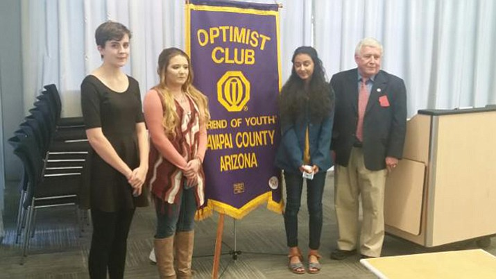 Winners of this year's Optimist International Essay Contest ...