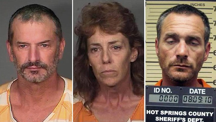 The escape, which involved, from left, John McCluskey, Casslyn Welch and Tracy Province, led to the murder of an Oklahoma couple.