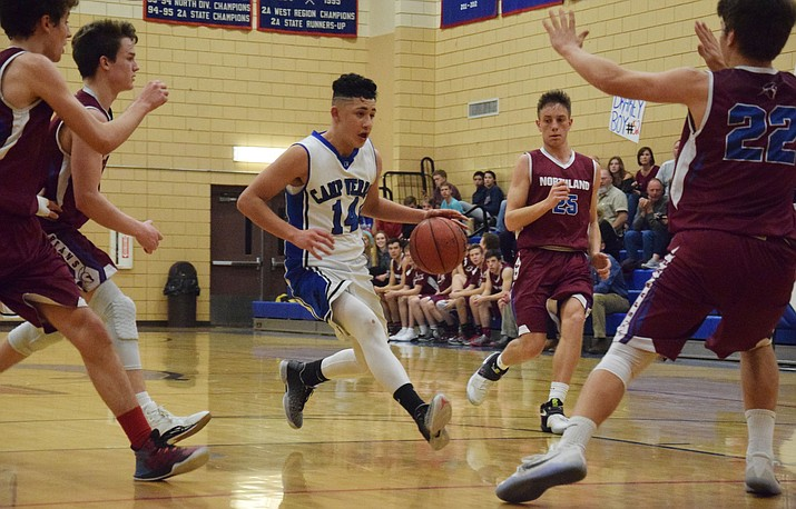 Camp Verde freshman Abelardo Gonzalez was All-Central Region. (VVN/James Kelley)