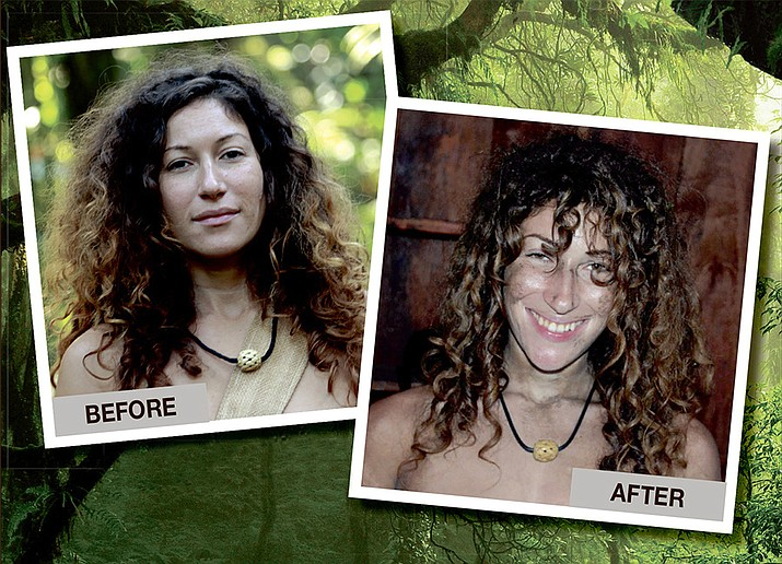 Giovanna Horning of Prescott, on Discovery Channel's 'Naked and Afraid'.
