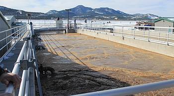 City of Williams looks at waste water treatment plant capacity photo