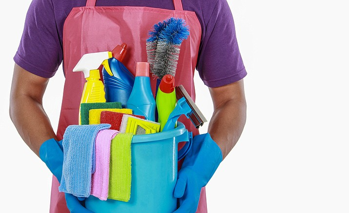 Mixing different cleaning products doesn't make them stronger, and in fact it could be dangerous. Chemicals act differently with other chemicals. It is best not to risk mixing them.