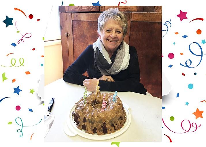 Connie Hiemenz celebrates her 70th birthday March 14.