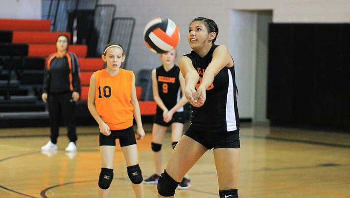 Middle school Falcons face-off with Spartans (photo gallery)