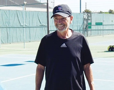 Brooke Fix, Lee Williams High School boys tennis coach
