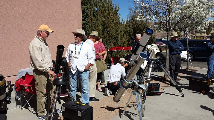 The Prescott Astronomy Club hosts a star party on Saturday, March 18.