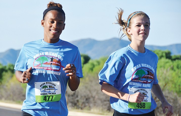 The 9th Annual Brian Mickelsen Memorial Run/Walk will be held on April 8 at Riverfront Park in Cottonwood. It features a marathon, half marathon, 10K and 2-mile. (VVN File Photos)