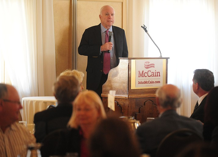 APS reported it spent $550,000 to help Sen. John McCain win his Republican primary election in 2016.