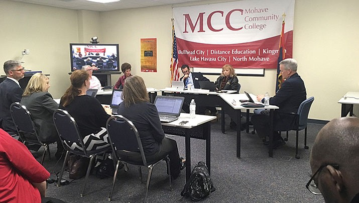 The MCC Board of Governors at its March meeting.