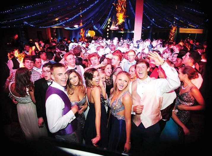 Prescott High School prom, 2015