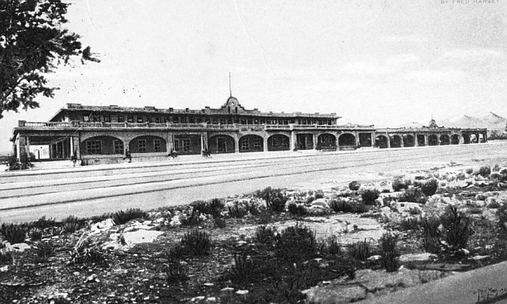 Ash Fork was an important railroad junction and boasted the Escalante Hotel, a working Harvey House.