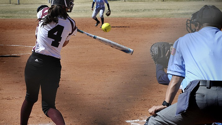 Winslow girls softball wins against Window Rock, 9-3, boys win 14-0