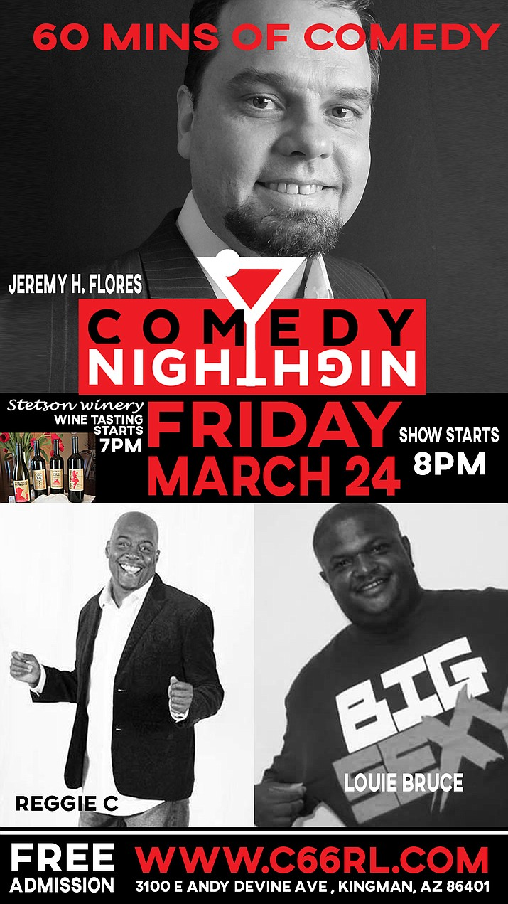 Free comedy night, March 24