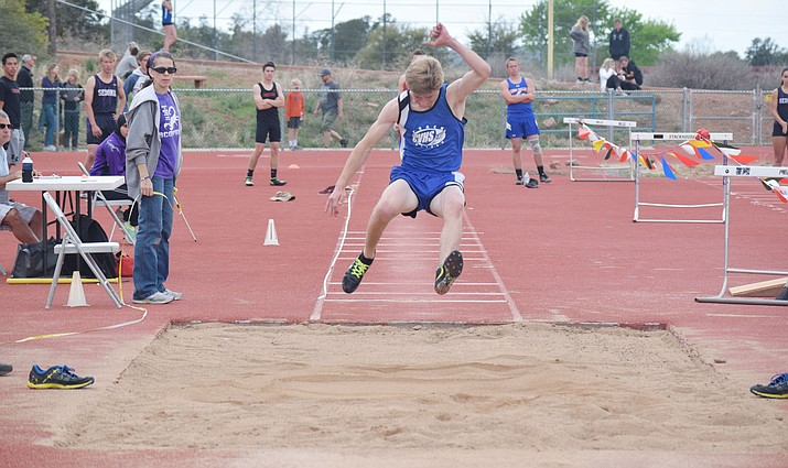Camp Verde junior Nate Schultz finished second at the Friendship Invitational at Sedona on Wednesday and automatically qualfied for state. (VVN/James Kelley)