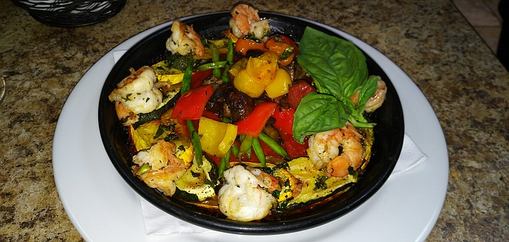 "Movie Themed ""Ratatouille"" with Shrimp at Gerardo's Italian Kitchen. Photo courtesy of The Dunnery."