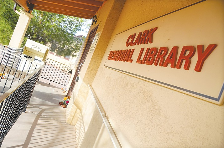 The fate of Clark Memorial Library could be decided Tuesday during the Common Council of the Town of Clarkdale's special meeting. (VVN/Vyto Starinskas)