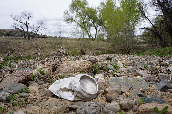 There's still litter in Granite Creek, but not as much as in past years. The upcoming Earth Day cleanup will diversify to adapt to less garbage.