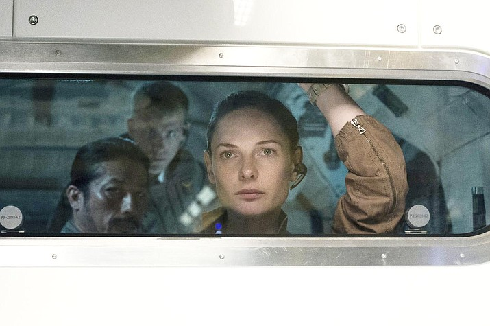 Discovery of a single-cell organism on Mars becomes a nightmare for the crew of the International Space Station in the thriller Life.