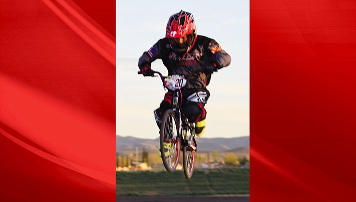 Surfing on Air at High Desert 66 BMX