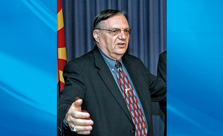 Former Maricopa County Sheriff Joe Arpaio currently faces a misdemeanor charge for disobeying a court order to discontinue immigration patrols.  (Howard Fischer photo)