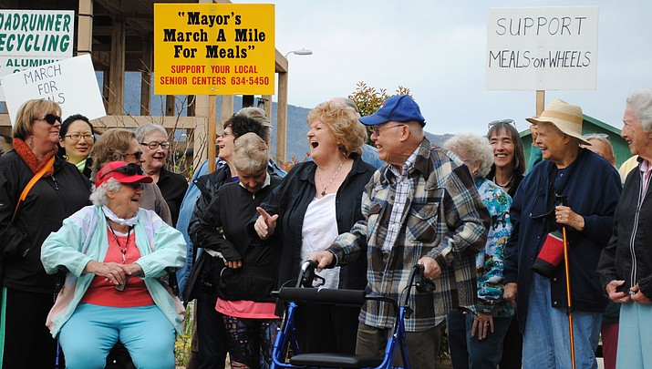Marching for Meals: Verde Valley communities bring awareness to hungry seniors