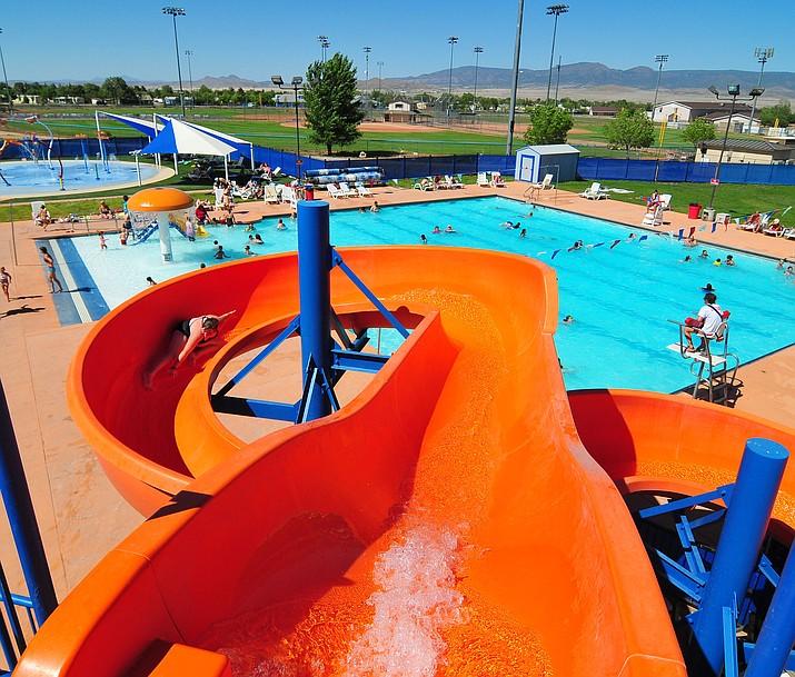 The Mountain Valley Splash pool in Prescott Valley.