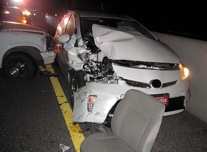 This crash happened on Coyote Pass Wednesday night.