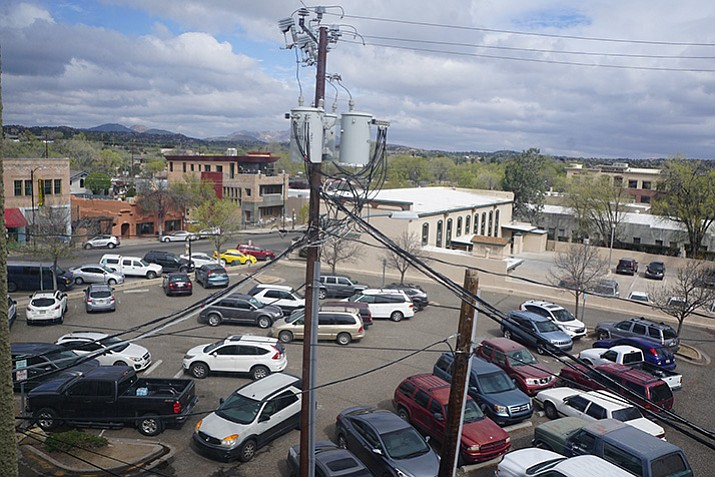 The configuration of the parking lot behind the Bashford Courts in downtown  Prescott will be changed. Key downtown parking lot work to begin soon   The Daily Courier