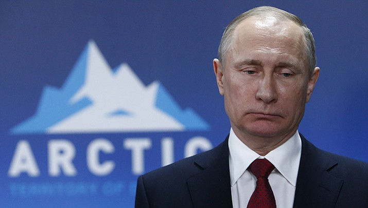 A ministry duty officer confirmed that the Russian Foreign Ministry posted an April Fools joke on their Facebook page, an audio file poking fun at the hacker scandal on Saturday, April 1. Russian President Vladimir Putin on Thursday emphatically denied allegations of Russian meddling in the U.S. presidential election.
