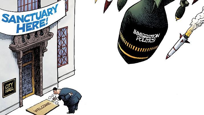 Editorial Cartoon B: April 3, 2017