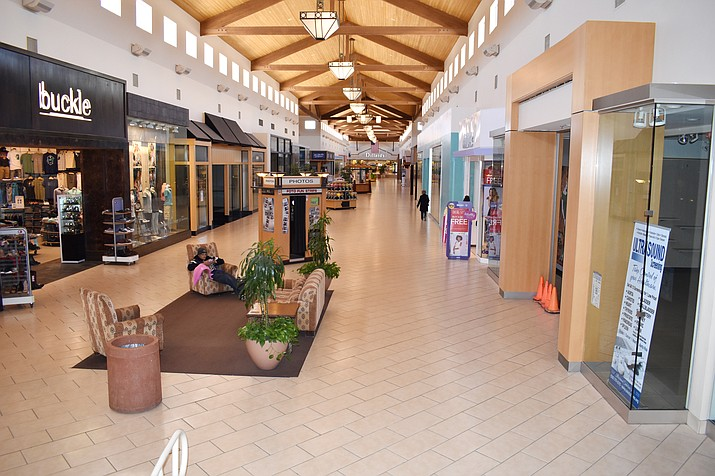 The Prescott Gateway Mall is currently on the auction block and currently accepting bids starting at $3.5 million.