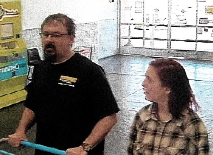 Surveillance images showed Tad Cummins and Elizabeth Thomas at a Walmart in Oklahoma City on the afternoon of March 15.
