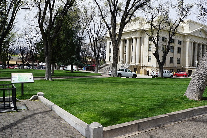 A Cortez Street location on the Yavapai County Courthouse Plaza was earlier set aside for a memorial to the 19 fallen Granite Mountain Hotshots. After soliciting ideas from the public in 2016, the memorial committee has now moved on to the request-for-proposal phase. The deadline for proposals from artists is set for June 15, 2017.