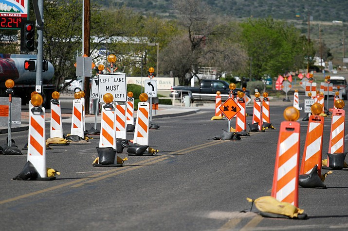 Construction on the Finnie Flat Sidewalk Project began on March 20, a project that Arizona Department of Transportation will both administer and manage, says Town of Camp Verde Public Works Director Ron Long.