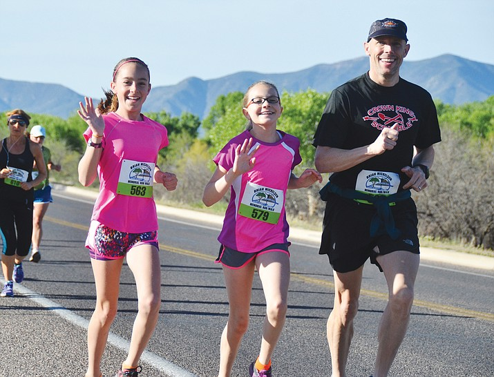 On Saturday Cottonwood will stage the 9th Annual Brian Mickelsen Memorial Run/Walk. The marathon starts at 6 a.m. at Riverfront Park, which is the starting and finishing line for all four races. (VVN file photo)