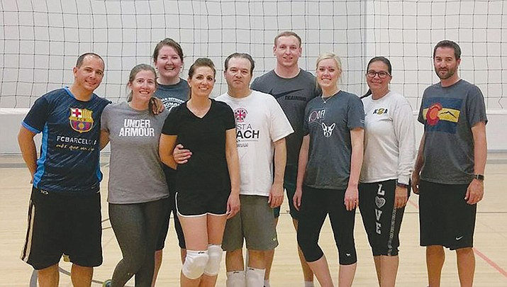 The City of Kingman Recreation Division 2017 Spring Adult Volleyball Season came to an end.