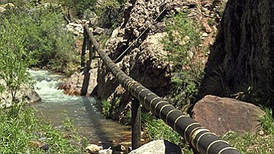 The Trans Canyon Pipeline, built in 1965, has begun deteriorating rapidly in past few years and is in need of complete replacement.