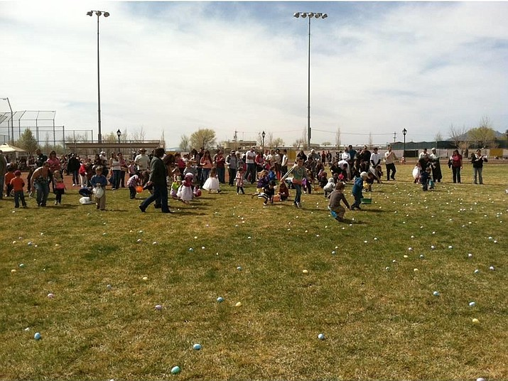 Word of Life's Easter Egg hunt, open to the community at Chino Valley Community Center this Saturday, April 15.